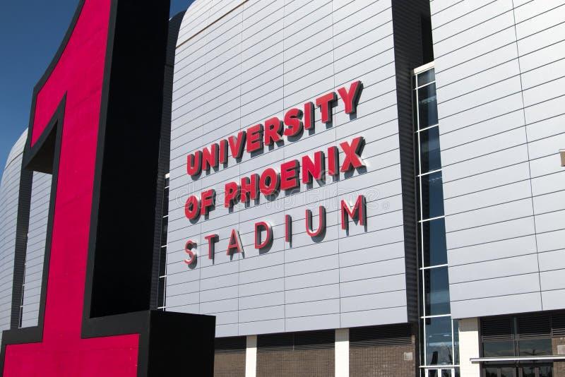 NFL Arizona Cardinals Football Stadium stock photography