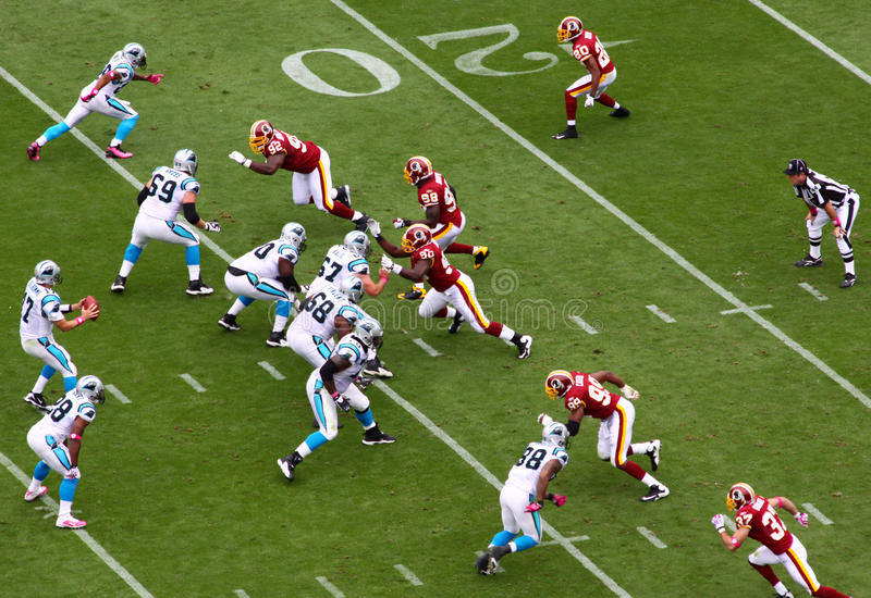NFL - Blitz! royalty-vrije stock afbeelding