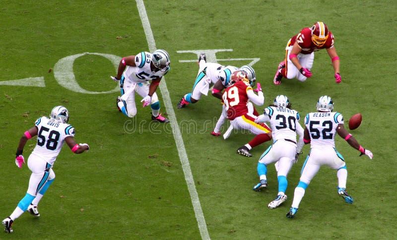 NFL - Desastrado! fotos de stock