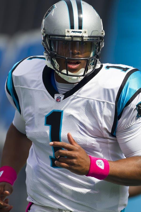 NFL : Saints du 9 octobre contre des panthères photo stock