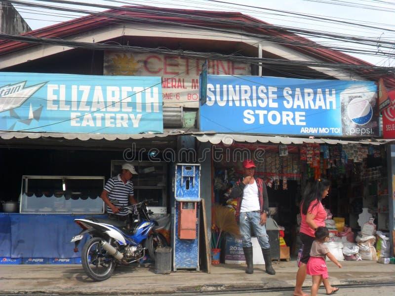 Ng Cagayan de Oro Mindanao Philippines Summer 2018 de Lungsod fotos de stock