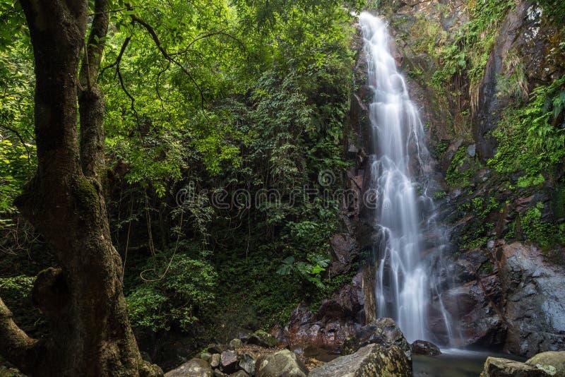 NG Tung Chai Waterfall en Hong Kong photos libres de droits