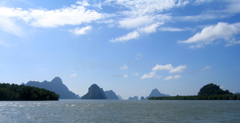 nga phang Ταϊλάνδη κόλπων στοκ φωτογραφία με δικαίωμα ελεύθερης χρήσης