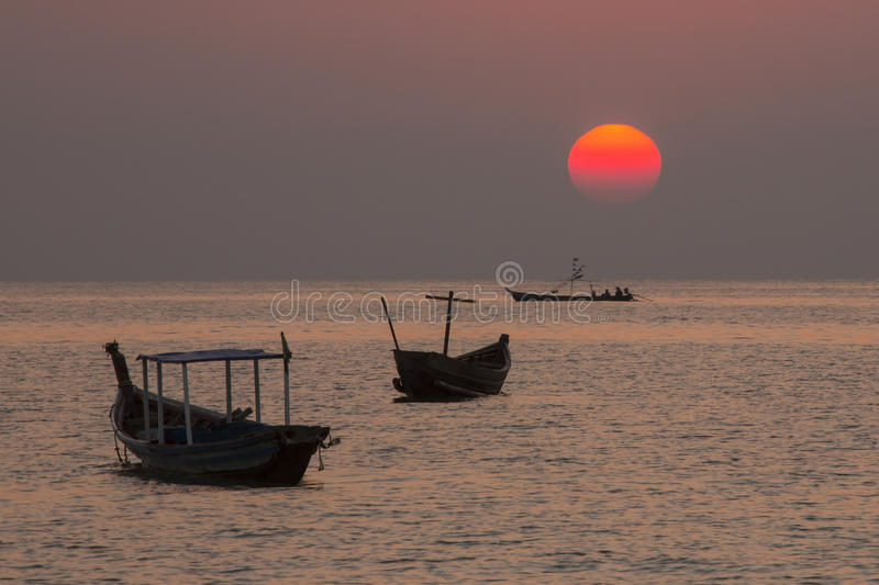 Ngapali Beach - Rakhine State - Myanmar (Burma) royalty free stock photography