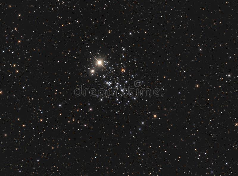 NGC 457 Owl Cluster fotografie stock
