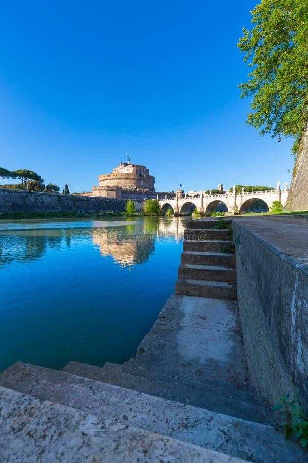 ` ?ngel, Roma, Italia de Castel Sant foto de archivo libre de regalías