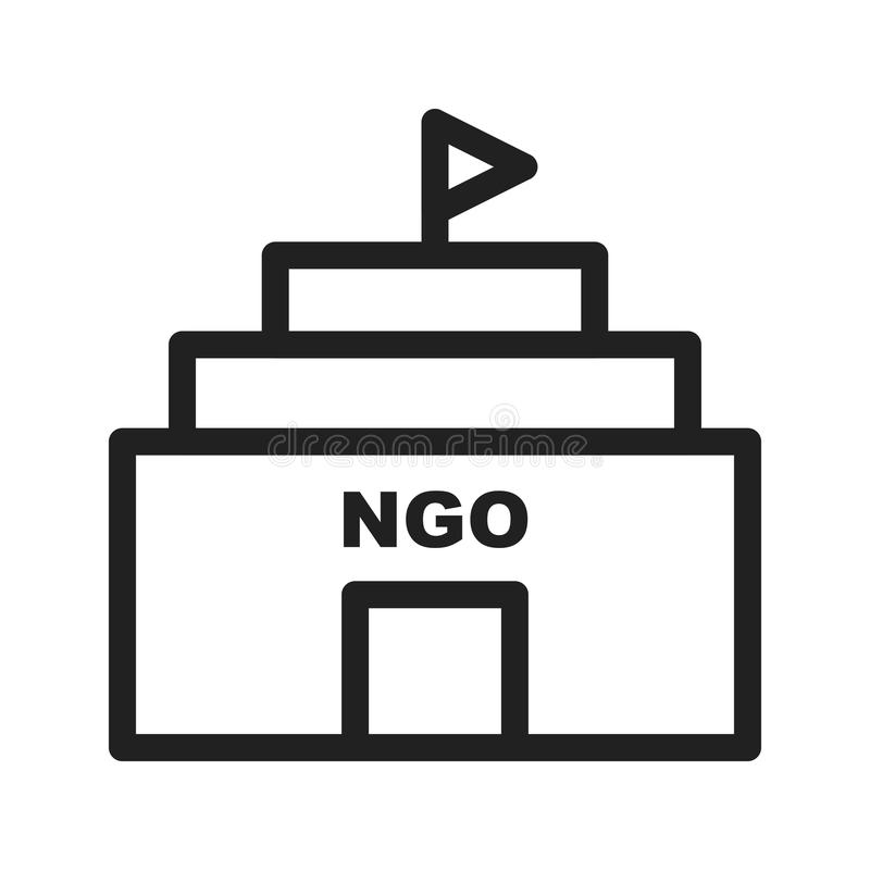 NGO Building vector illustratie