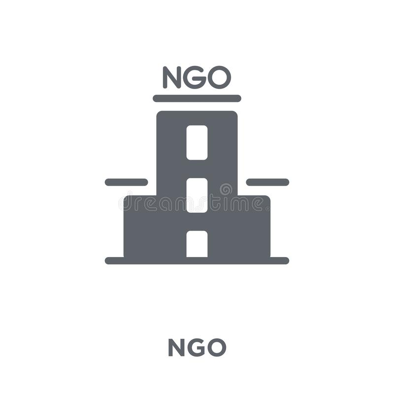 Ngo icon from Political collection. vector illustration