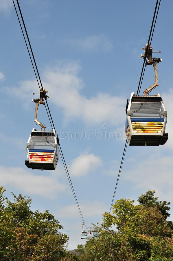 Download Ngong Ping cable car stock photo. Image of outdoor, cable - 19184872