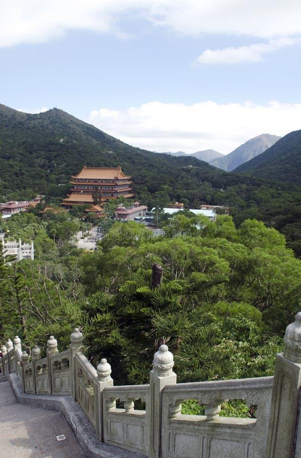 Ngong Ping Plateau fotografia stock