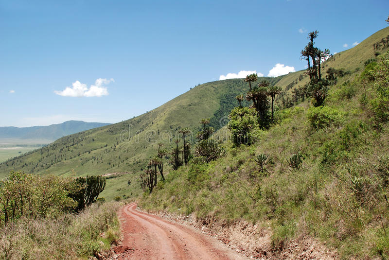 Ngorongoro Conservation Area, Tanzania. The Ngorongoro Conservation Area is a conservation area and a UNESCO World Heritage Site located 180 km west of Arusha in stock photography