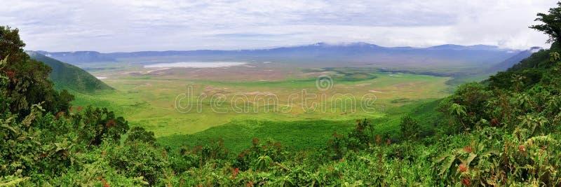 Ngorongoro Krater, Tanzania, Afrika lizenzfreie stockbilder