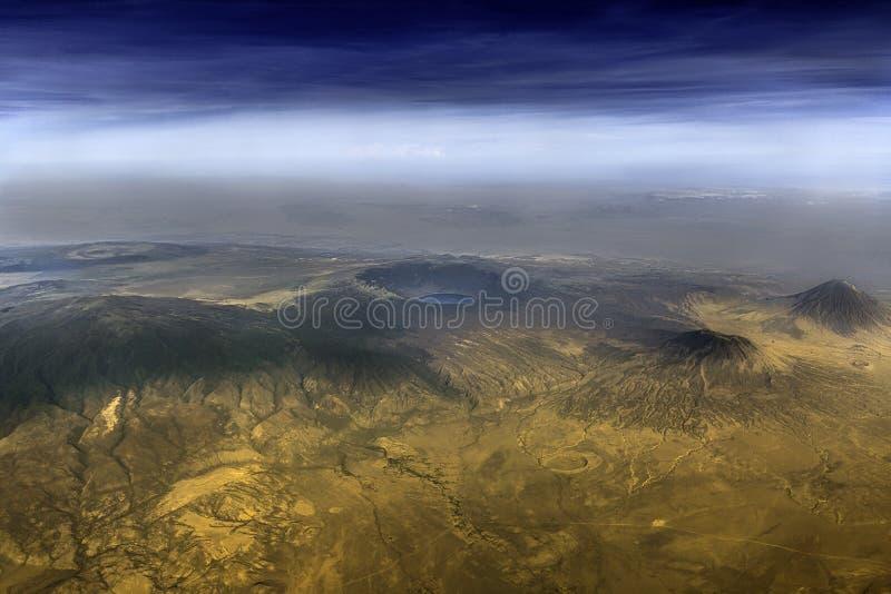 Ngorongoro kraternaturvårdsområde arkivbilder