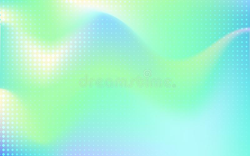 NGradient mesh abstract background. stock illustration