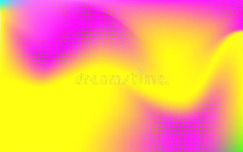 NGradient mesh abstract background. Blurred bright colors mesh background. Vivid smooth mesh blurred futuristic template. Trendy creative vector. Intense blank stock illustration