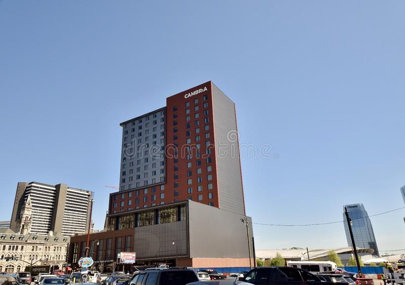 Ângulo largo Nashville do hotel de Cambria, TN fotografia de stock royalty free