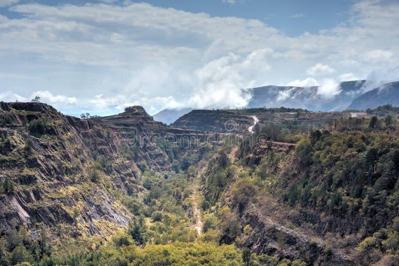 Ngwenya Iron Ore Mine - Swaziland stock photos
