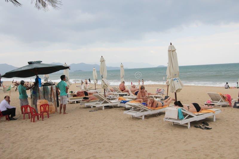 Nha Trang beach royalty free stock image