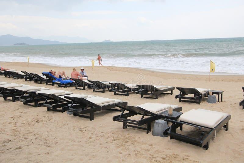 Nha Trang beach stock photo