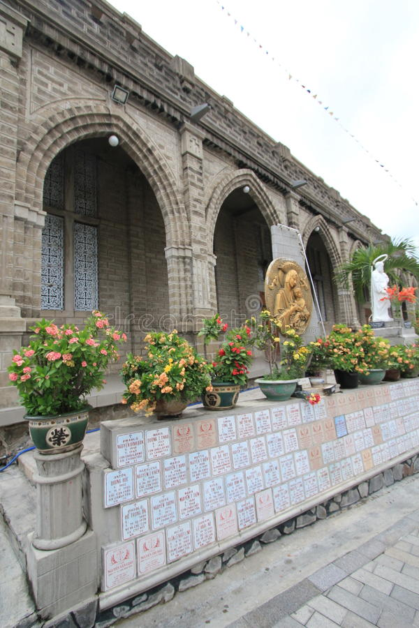 Nha Trang Roman Catholic Diocese stock afbeelding