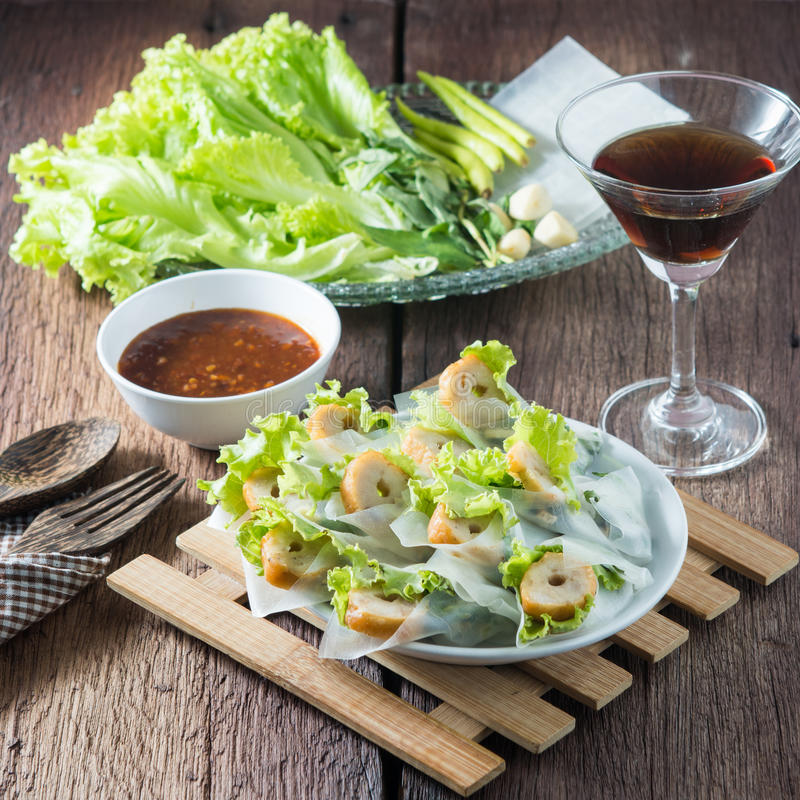 Nham due, Vietnamese food royalty free stock image