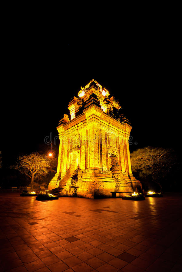 Nhan Tower stock photography
