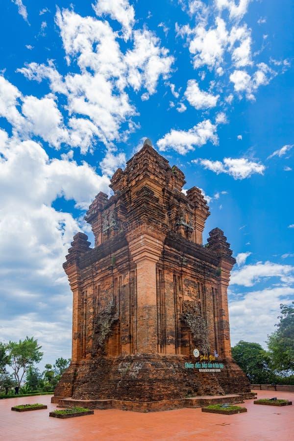 Nhan wierza w Phu jenu mieście obraz royalty free