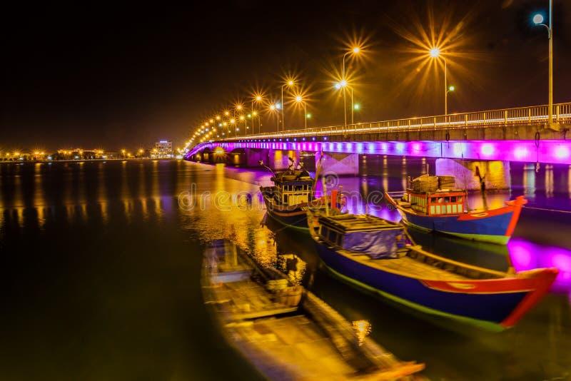 Nhat Le Bridge royalty-vrije stock foto