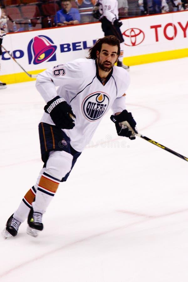 NHL forward Zack Stortini of the Edmonton Oilers