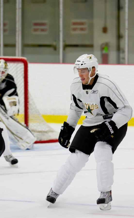 NHL's Dallas Stars Jordie Benn royalty free stock photos