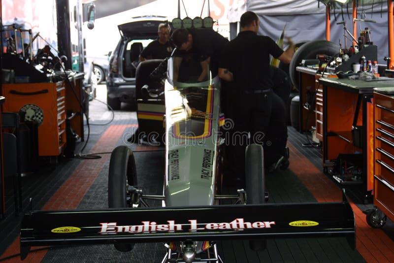 NHRA al parco 2018 del Motorsports dell'ingresso fotografia stock libera da diritti