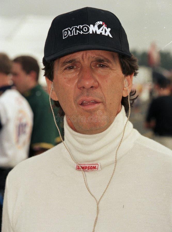 NHRA-Fahrer Joe Amato stockbilder