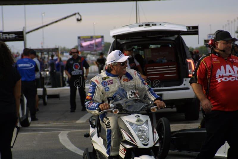 NHRA an Zugang Motorsports-Park 2018 stockbild