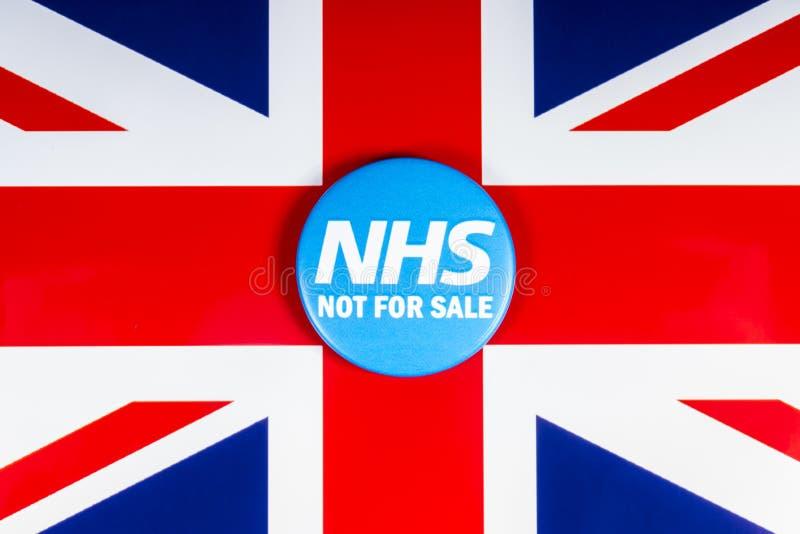 NHS non per la vendita immagini stock libere da diritti