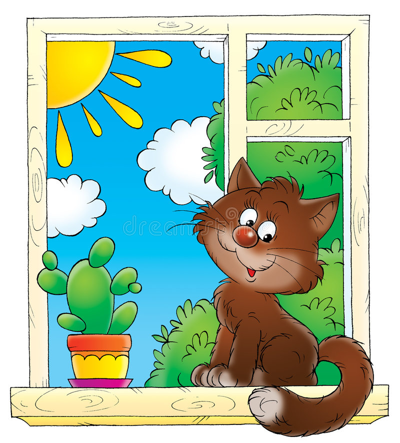 Niñez 002 ilustración del vector