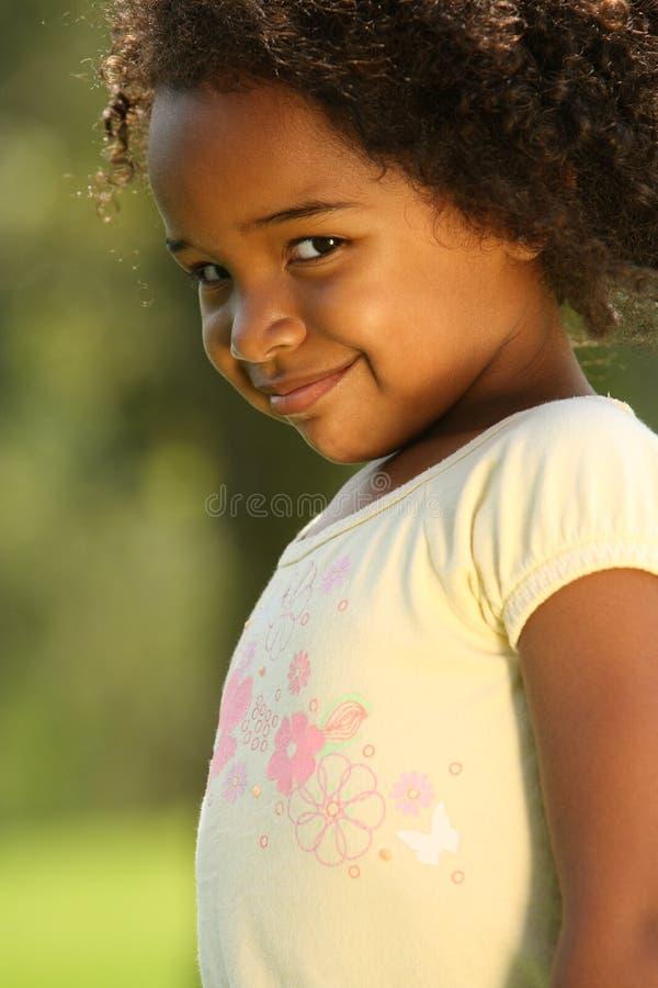 Niñez feliz foto de archivo libre de regalías
