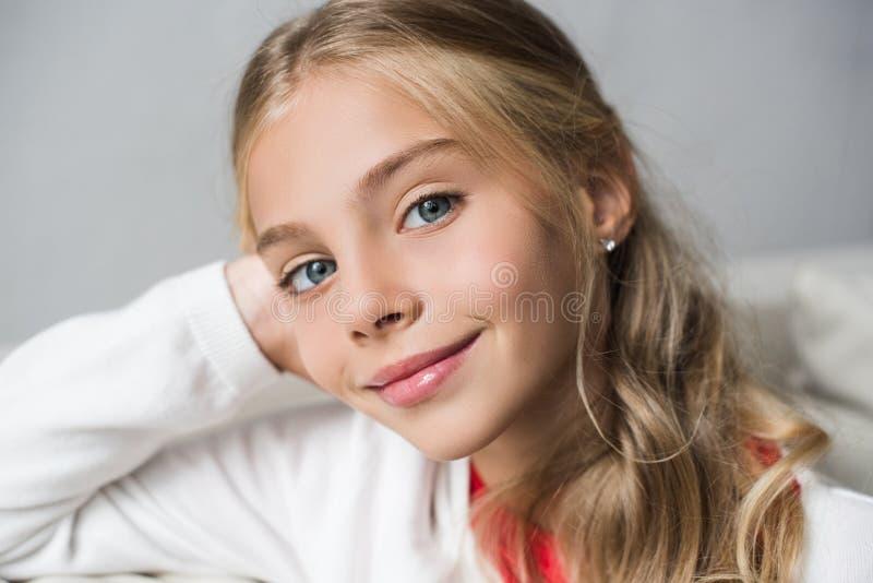 Niño adorable del preadolescente fotografía de archivo libre de regalías