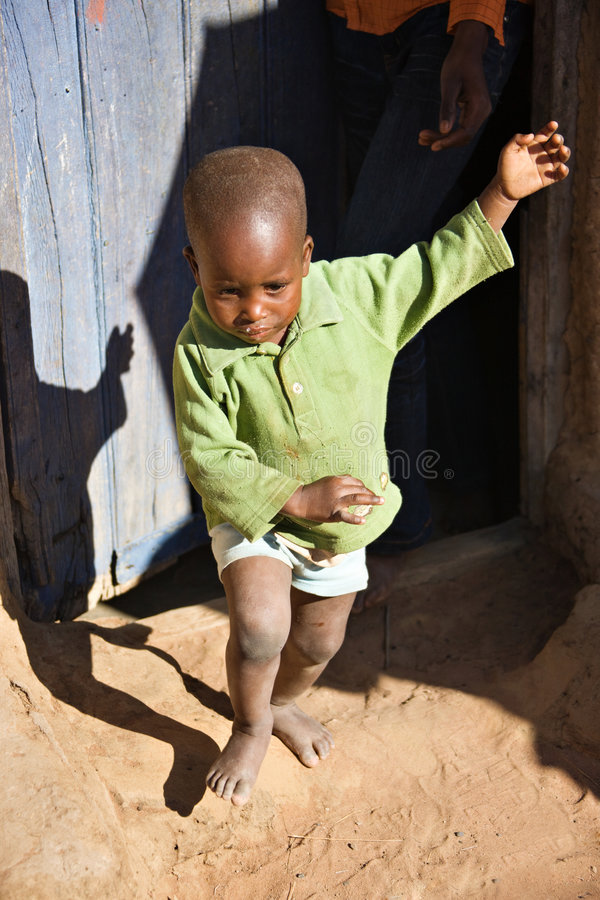 Niño africano foto de archivo libre de regalías