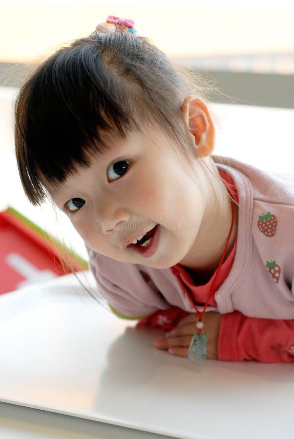 Niño asiático fotografía de archivo
