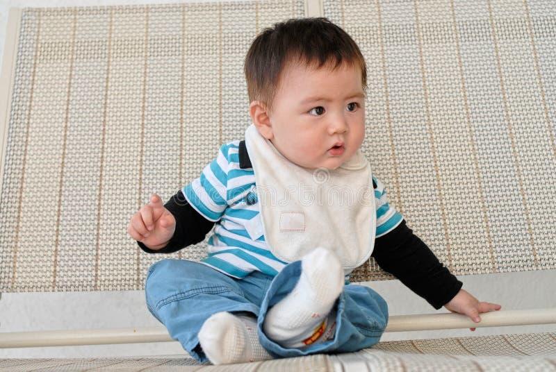 Niño chino imagenes de archivo