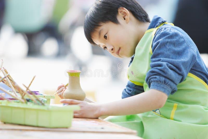 Niño chino imagen de archivo libre de regalías