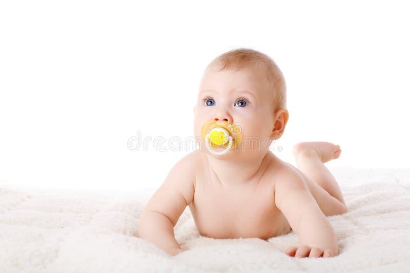 Niño con el maniquí fotos de archivo