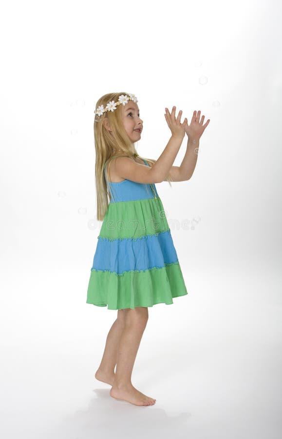 Niño de flor foto de archivo libre de regalías