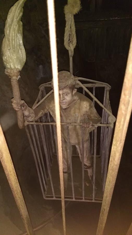 Niño de la mina de Zacatecas México imágenes de archivo libres de regalías