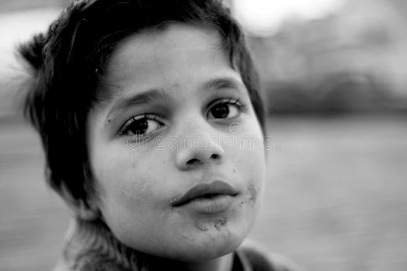 Niño del refugiado foto de archivo libre de regalías