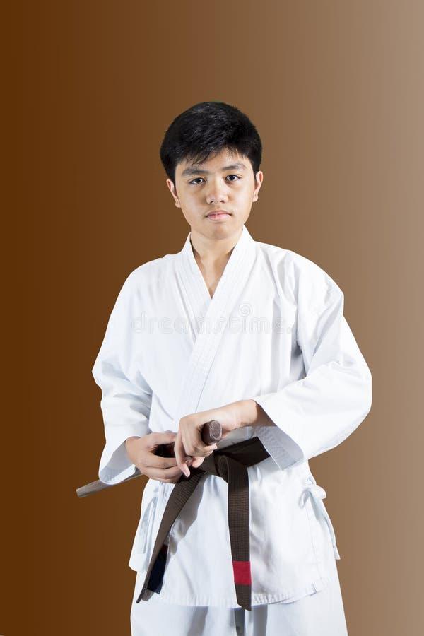 Niño del samurai fotos de archivo libres de regalías