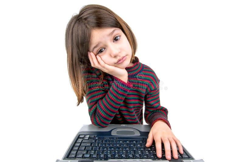 Niño desesperado imagen de archivo libre de regalías