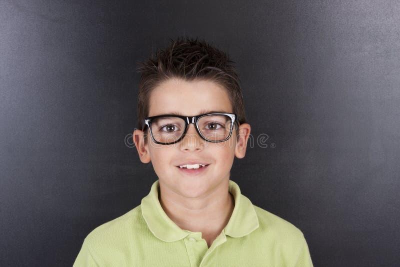 Niño en escuela foto de archivo libre de regalías