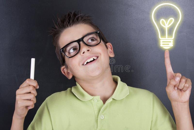 Niño en escuela fotos de archivo libres de regalías