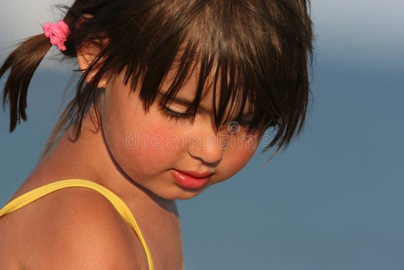 Niño hermoso foto de archivo